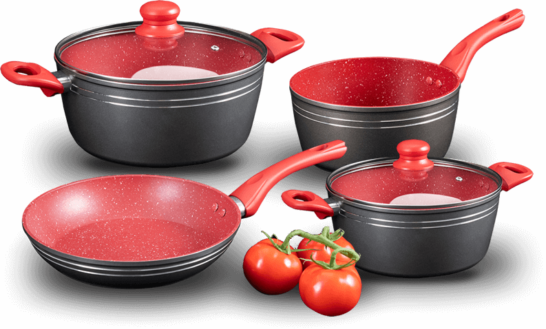 Panela Red Silver