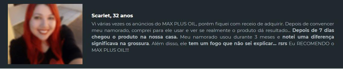 maxplusoil bula